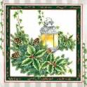 Guardanapo Christmas Light and Pointsettias