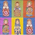 Guardanapo Russian Dolls