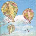 Guardanapo Hot Air Balloons