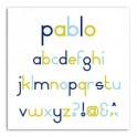 Cortante Toga Alfabeto Pablo