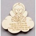 Anjo na Nuvem com Oração