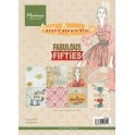 Bloco Papeis Scrapbooking A5 - Marianne Design  - Fabulous Fifties