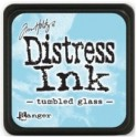 Mini Almofada de Tinta Distress - Tumbled Glass