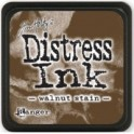 Mini Almofada de Tinta Distress - Walnut Stain