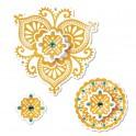 Cortantes Framelits Die Set (4 peças) c/ Carimbos - Moroccan Flowers