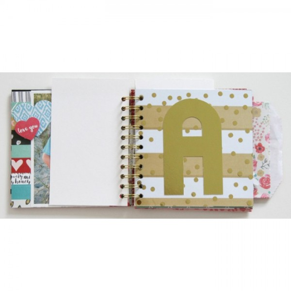 Placa Alfabeto Alphabet Punch Board